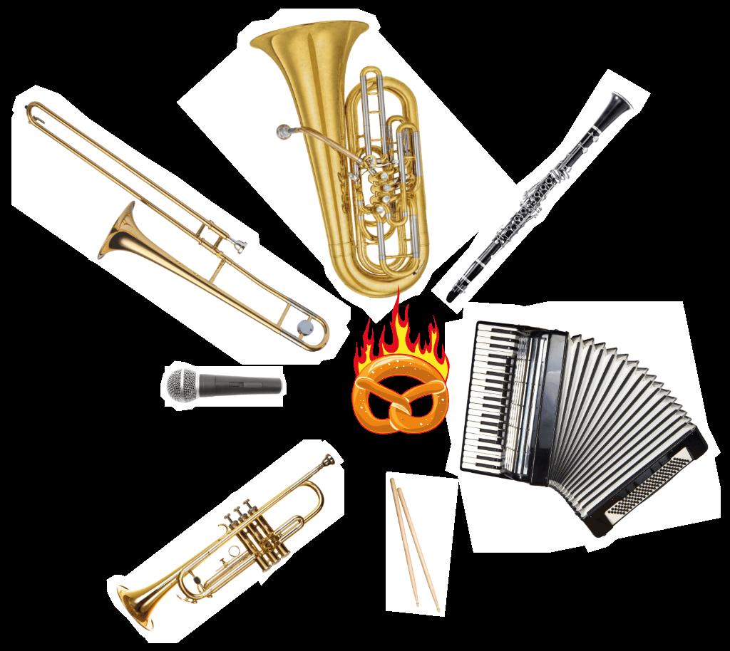The Heimatdamisch Instrumente