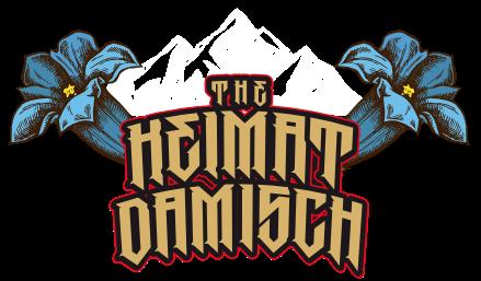 The Heimatdamisch - Logo blau